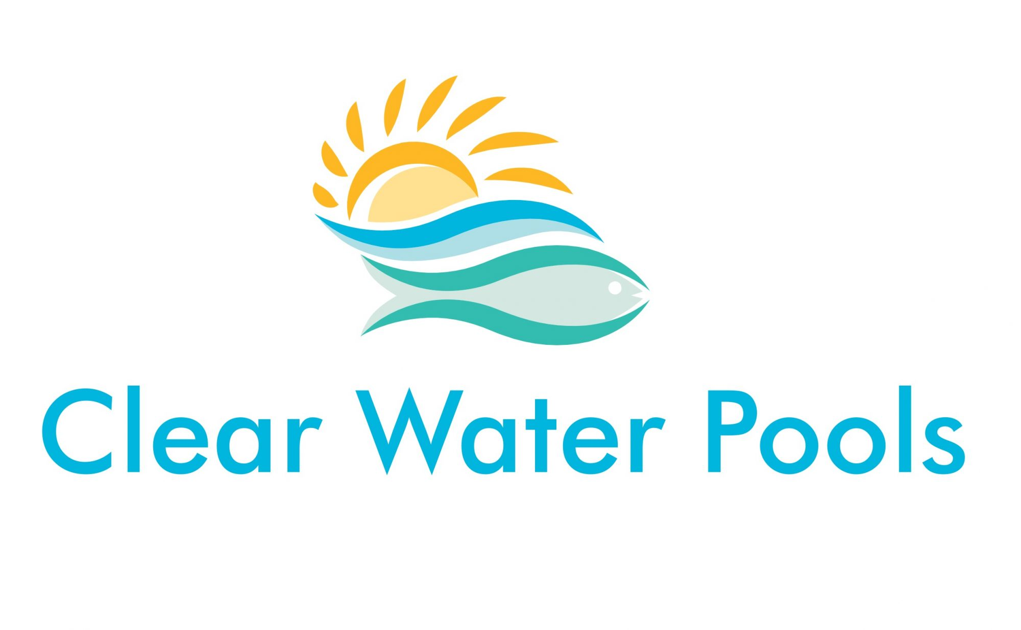 Clear Water Pools Logo